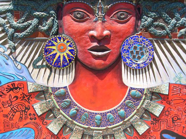 Itzpapalotl Goddess Mural (Sundays In My City)