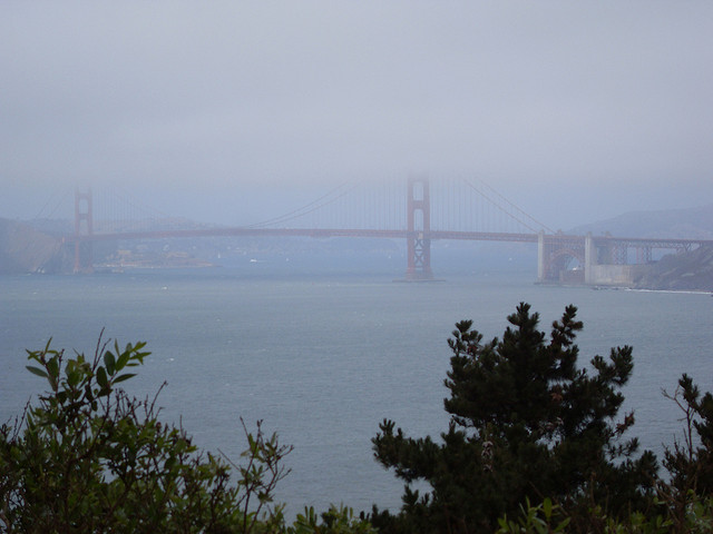Golden Gate Bridge in the Fog (Sundays In My City)