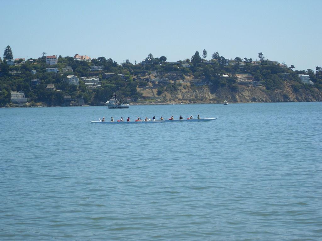 Rowers in Sausalito