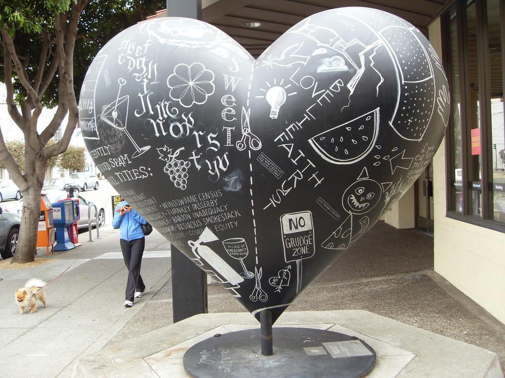 heart art in San Francisco