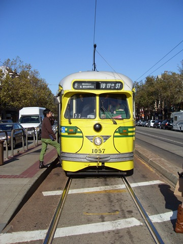 F Line Trolley (Sundays In My City)