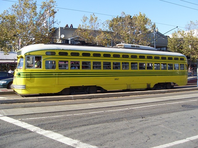 F-Trolley in San Francisco
