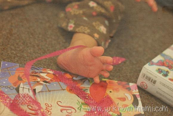 Christmas Baby Foot