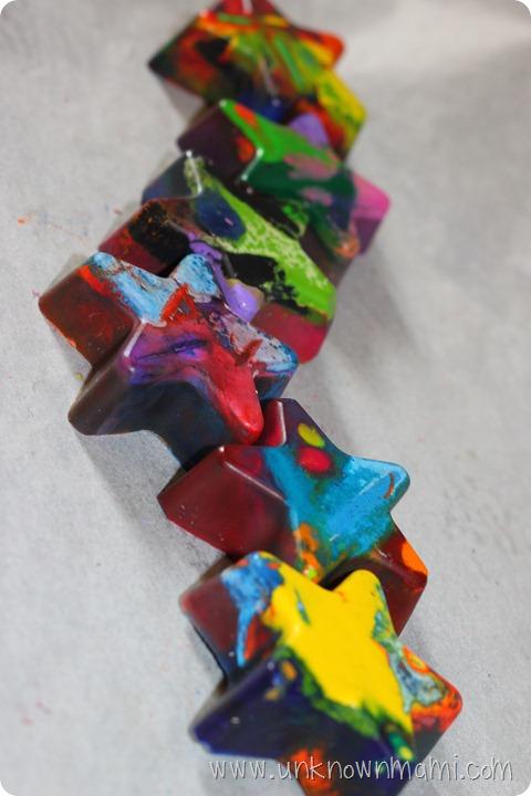 Star Shaped Crayons
