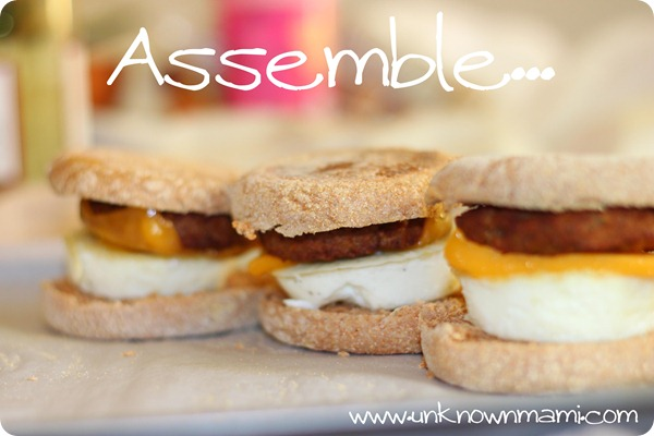 Breakfast-sandwiches