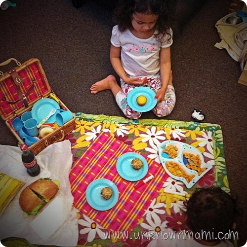 Girls-having-a-picnic