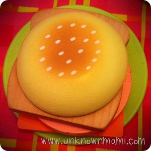 Wooden-burger