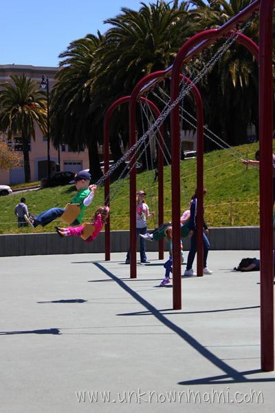 Dolores Park Swings