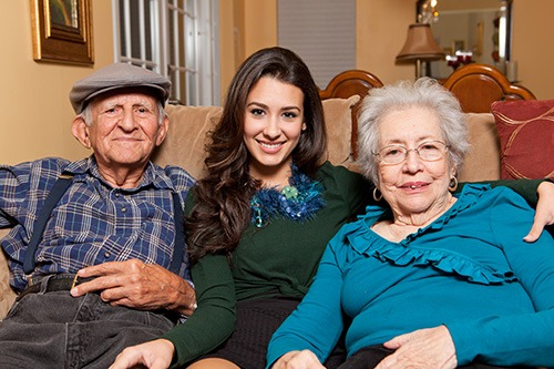 Caring for elders at home