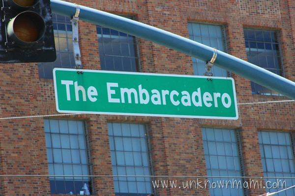 The Embarcadero in San Francisco
