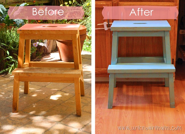 Before-and-After-Stained-Stool-unknownmami