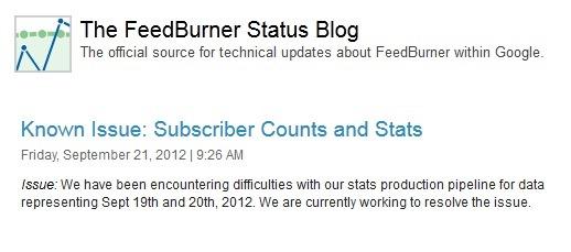 Feedburner-Status-Blog