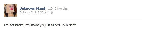 Funny Facebook Update