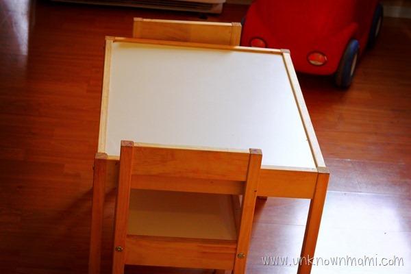 DIY-Kids-Chalkboard-Table