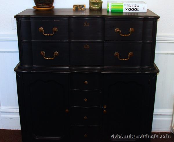 DIY dresser refinish