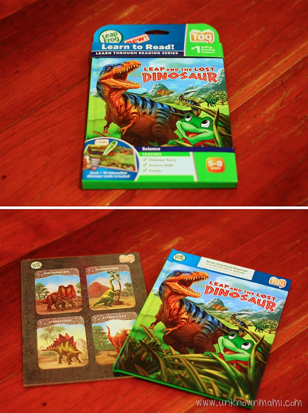 Leap and the Lost Dinosaur Tag Book