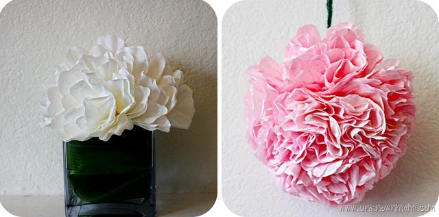 Coffee filter flowers by claudya diy coffee filter flowers paper flowers make mightylinksfo