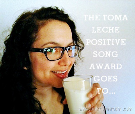 Toma_leche_positive_song_award