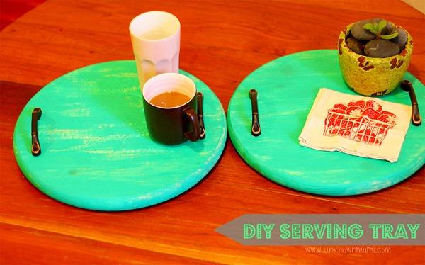 DIY Serving Tray