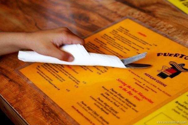 Puerto Alegre menu