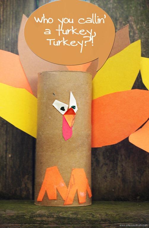 Diy Toilet Paper Roll Turkeys By Claudya