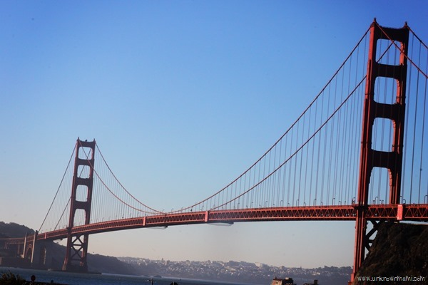 Golden Gate Bridge from Sausalito