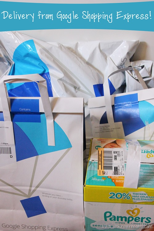 Delivery from Google Shopping Express #AD