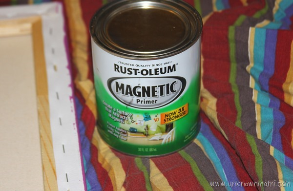 Rustoleum magnetic primer