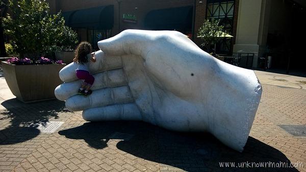 Hand in Santa Rosa