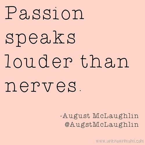 August McLaughlin quote