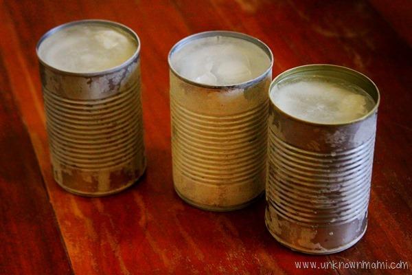 Make your own tin can lanterns