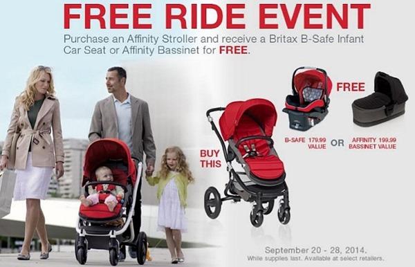 Britax Free Ride Event 2014