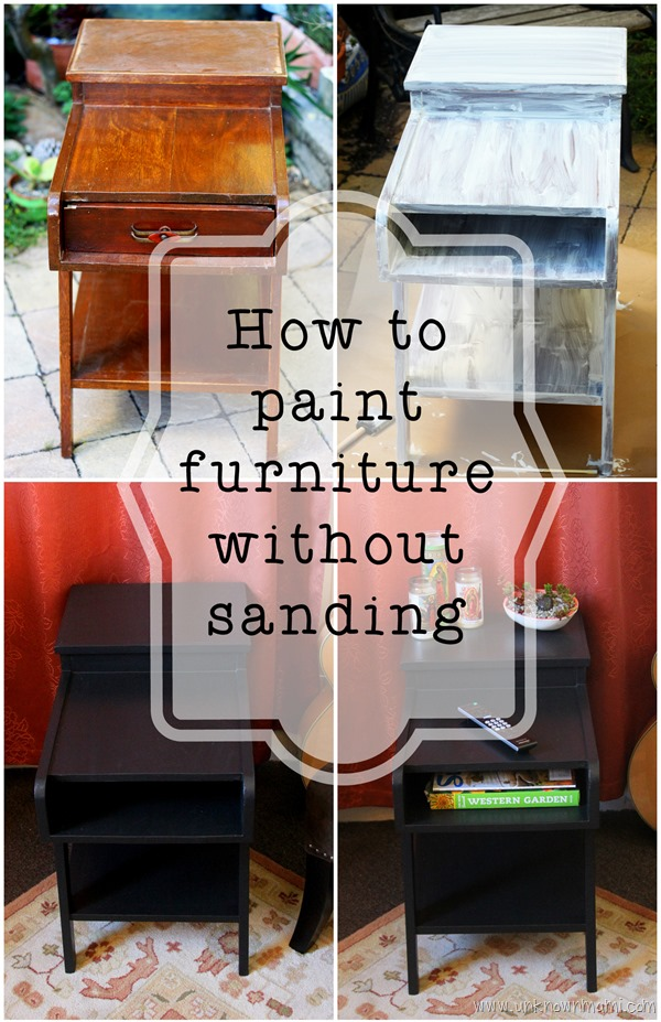 Street Find Redo Paint Without Sanding By Claudya