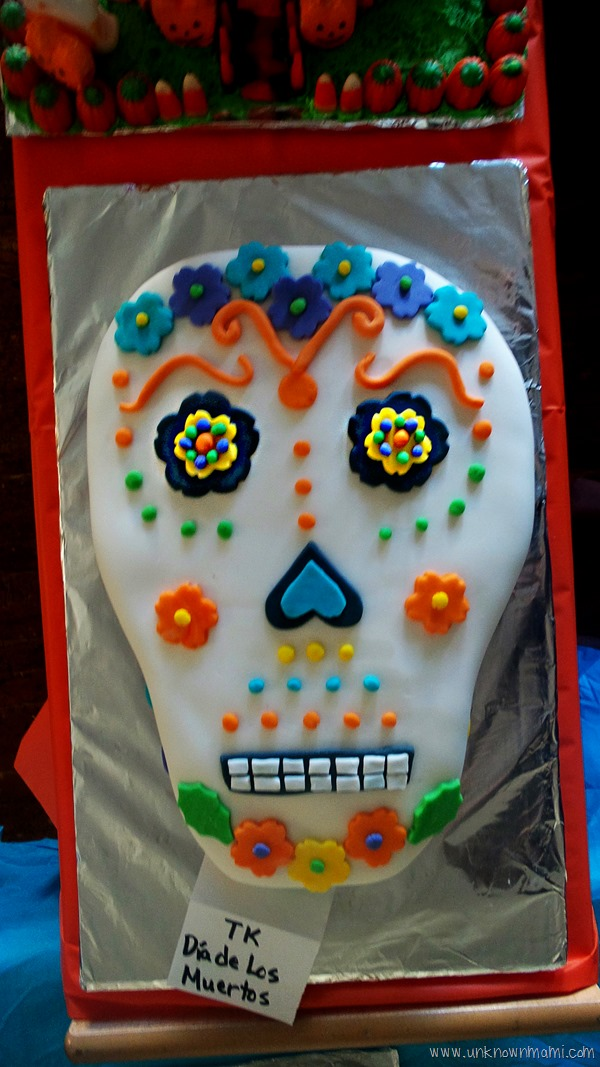 Cake for Day of the Dead