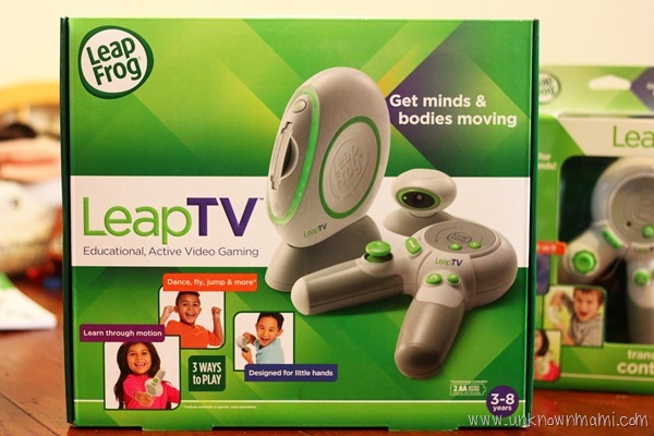 LeapTV game system