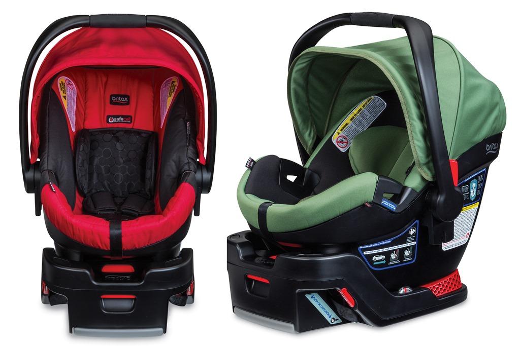 Britax B Safe 35 And Elite BabySafeConBritax