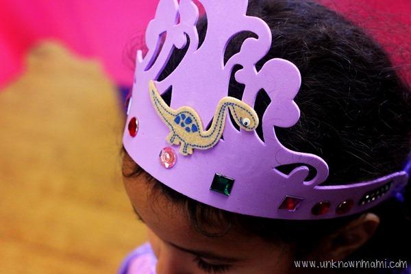 foam birthday tiara