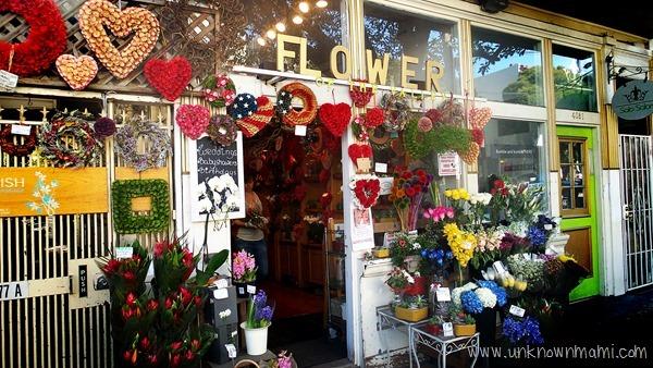 Flower store in Noe Valley