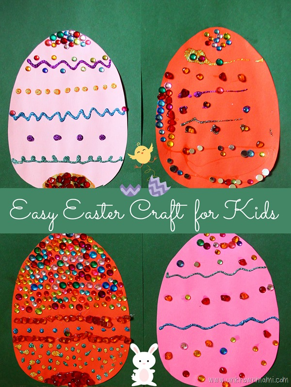 Diy Easy Easter Craft For Kids By Claudya