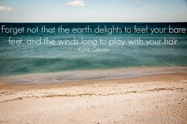 Kahlil Gibran Earth Quote