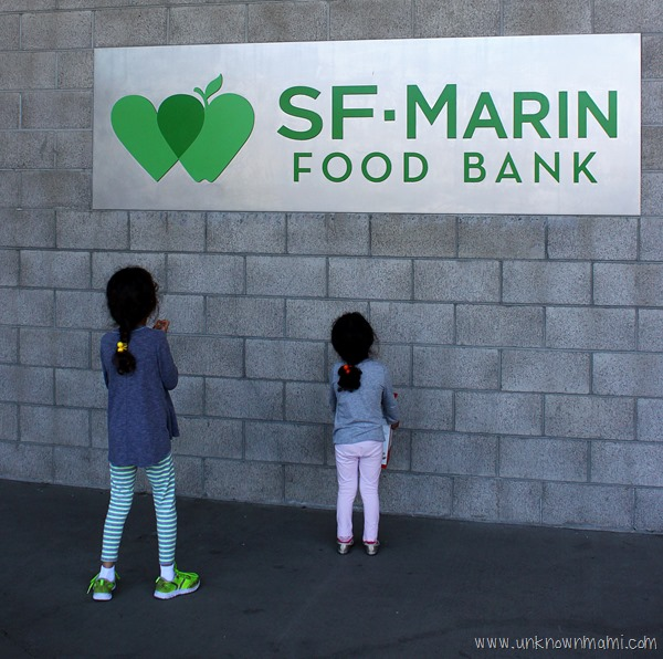 SF Marin Food Bank Warehouse #FightHungerTogether
