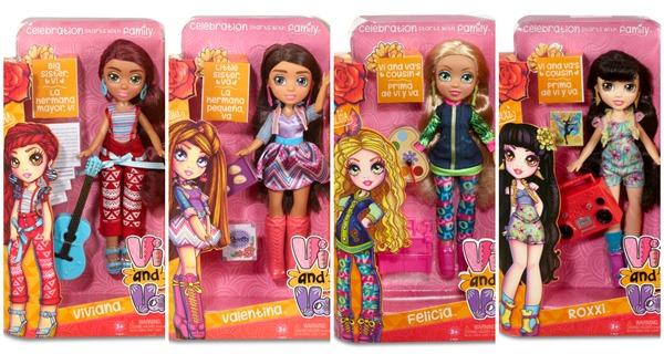 Vi and Va Doll Line