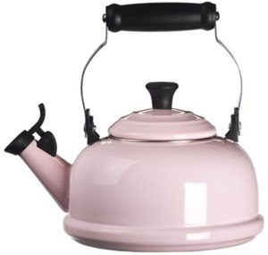 Pink Le Creuset tea kettle