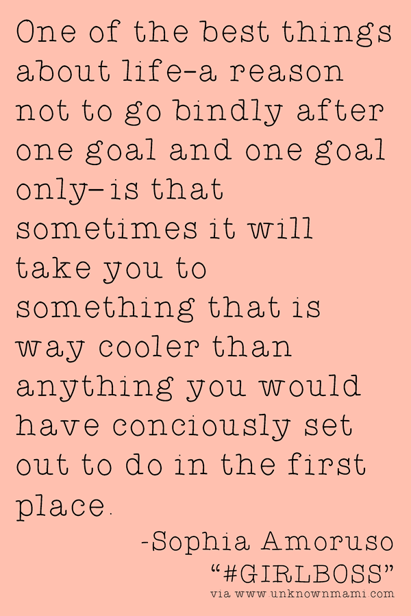 Sophia Amoruso #GIRLBOSS quote