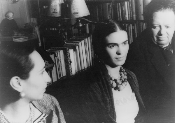 Malu Block, Frida Kahlo and Diego Rivera