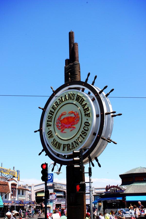 Fisherman's Wharf Sign