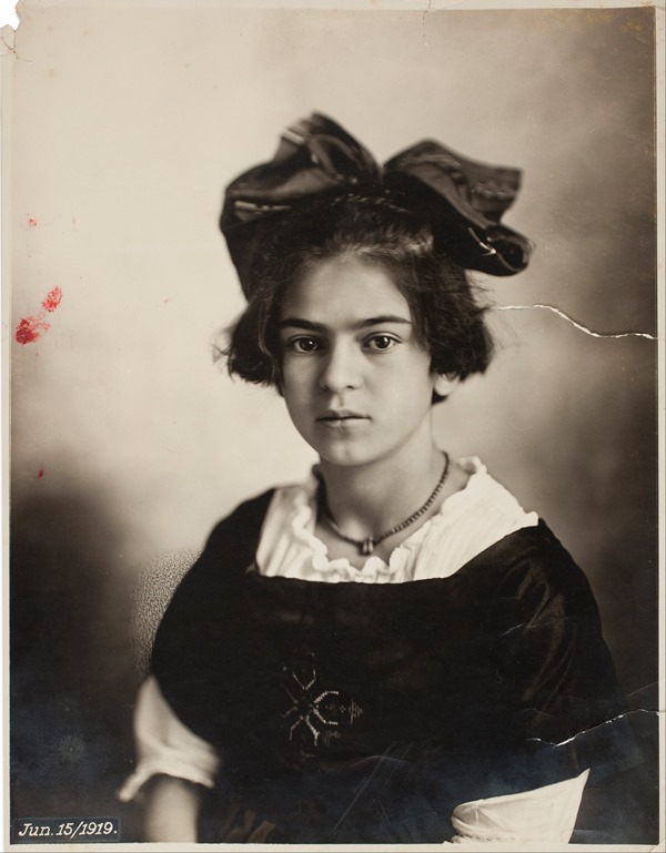 Frida Kahlo as a child