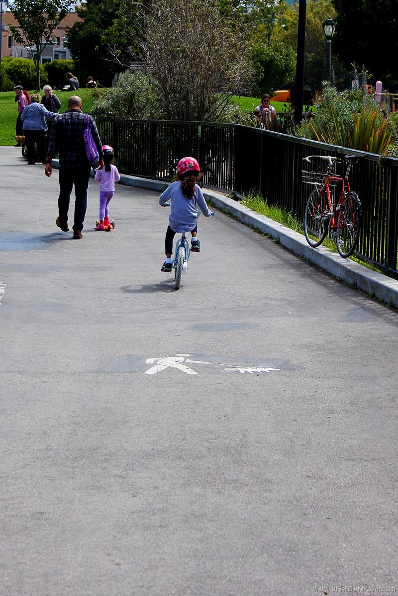 Bike ride Duboce Park
