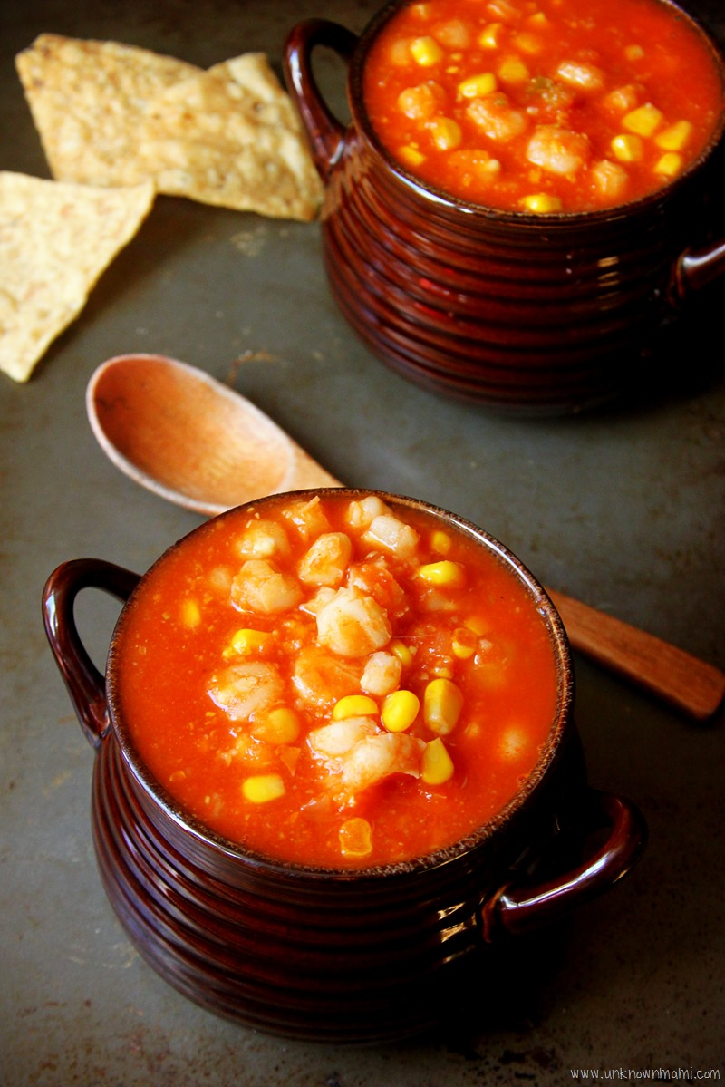 Hominy And Corn Tortilla Soup Slow Cooker Recipe By Claudya