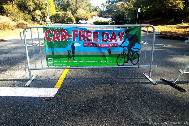 Car Free Day in Golden Gate Park